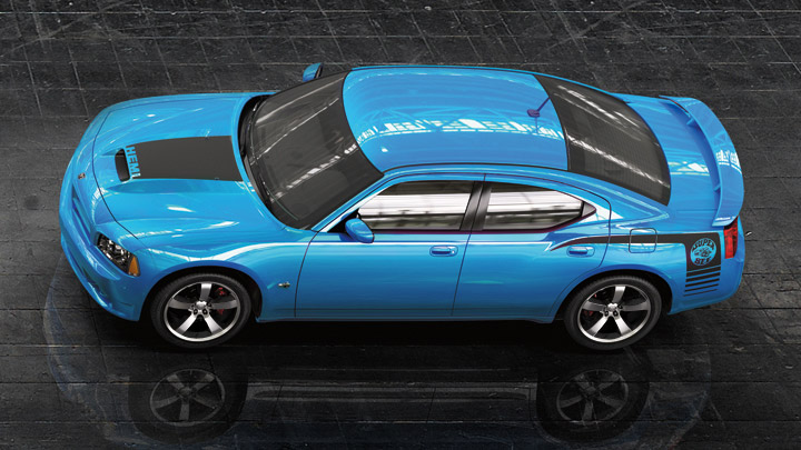 DODGE CHARGER blue