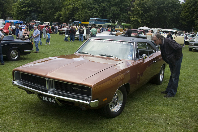 DODGE CHARGER brown