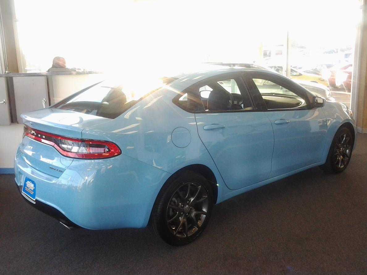 DODGE DART blue