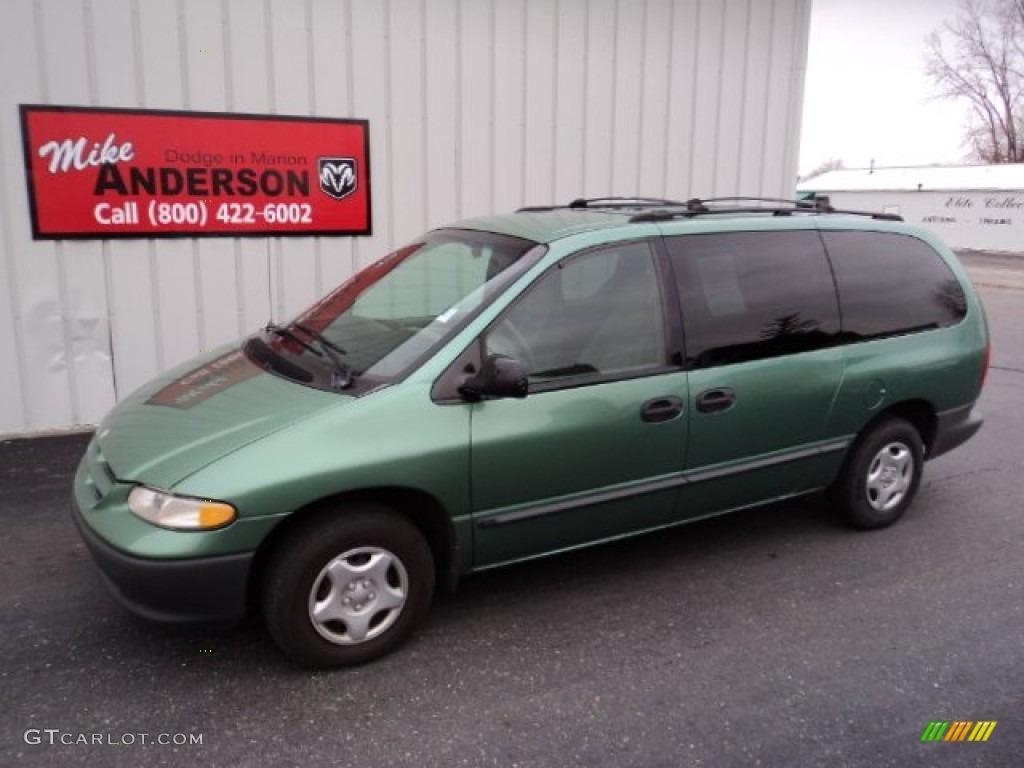 Dodge grand caravan green