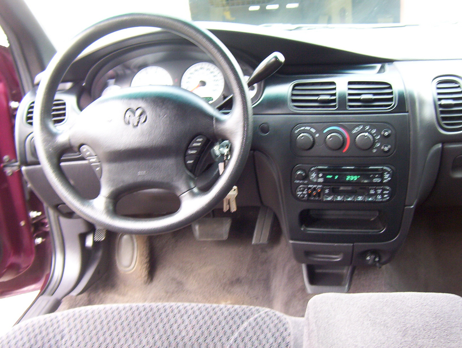 DODGE INTREPID ES interior