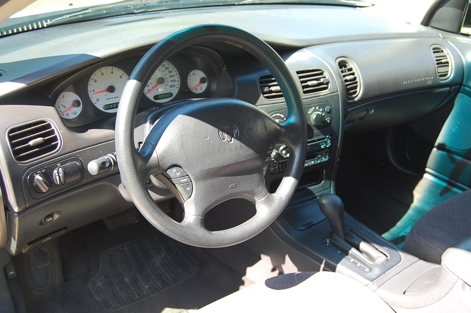 DODGE INTREPID interior