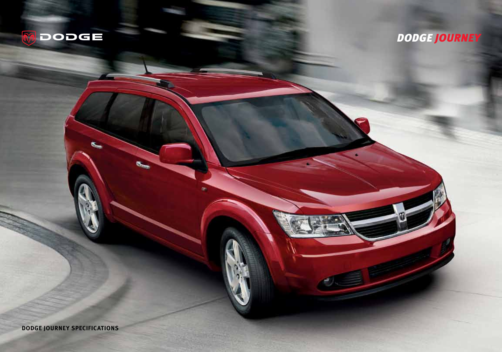 DODGE JOURNEY 2.0 red