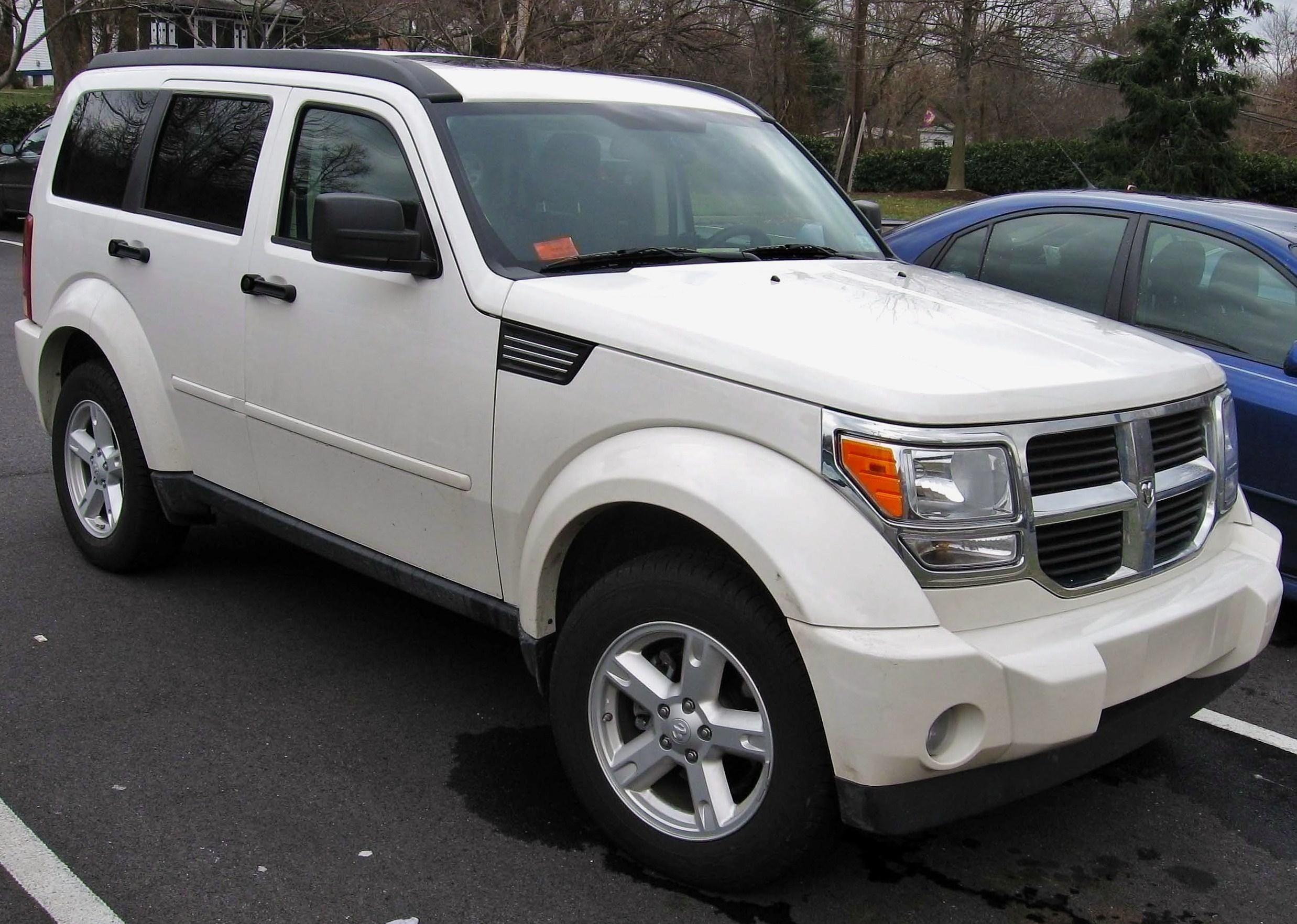 Dodge nitro white