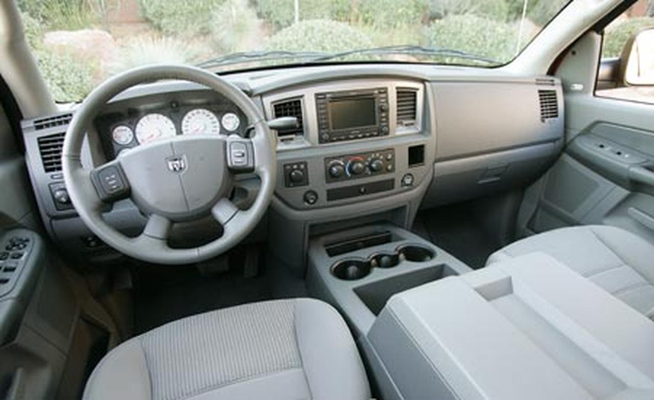 Dodge Ram 1500 2500 3500 Slt Interior Burl Wood Dash Trim