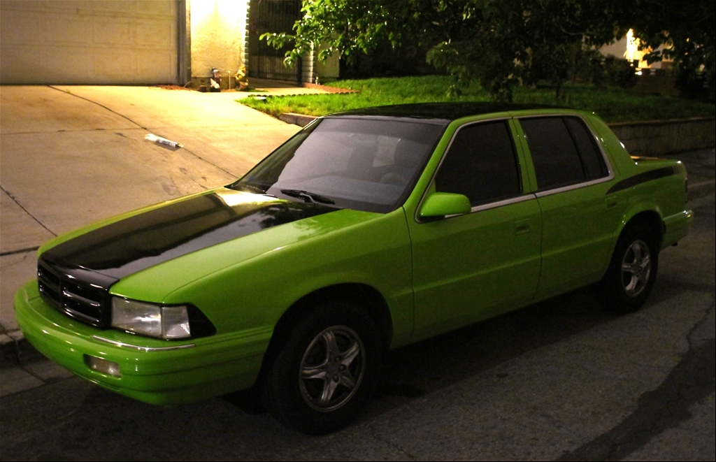 DODGE SPIRIT green