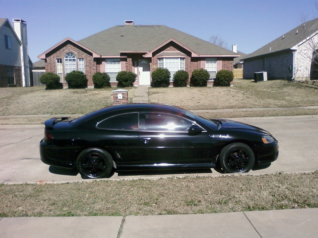 DODGE STRATUS COUPE black