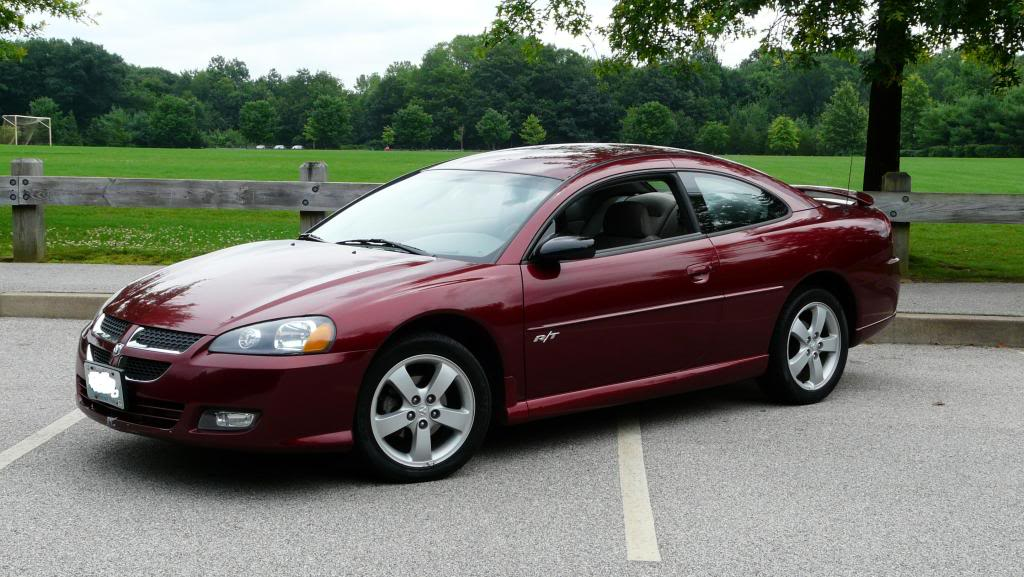 DODGE STRATUS COUPE red