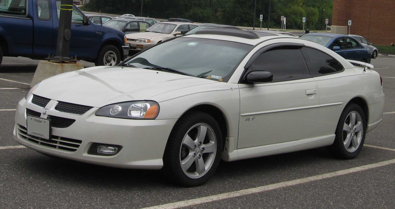 DODGE STRATUS COUPE silver