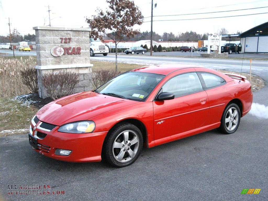 Dodge stratus red