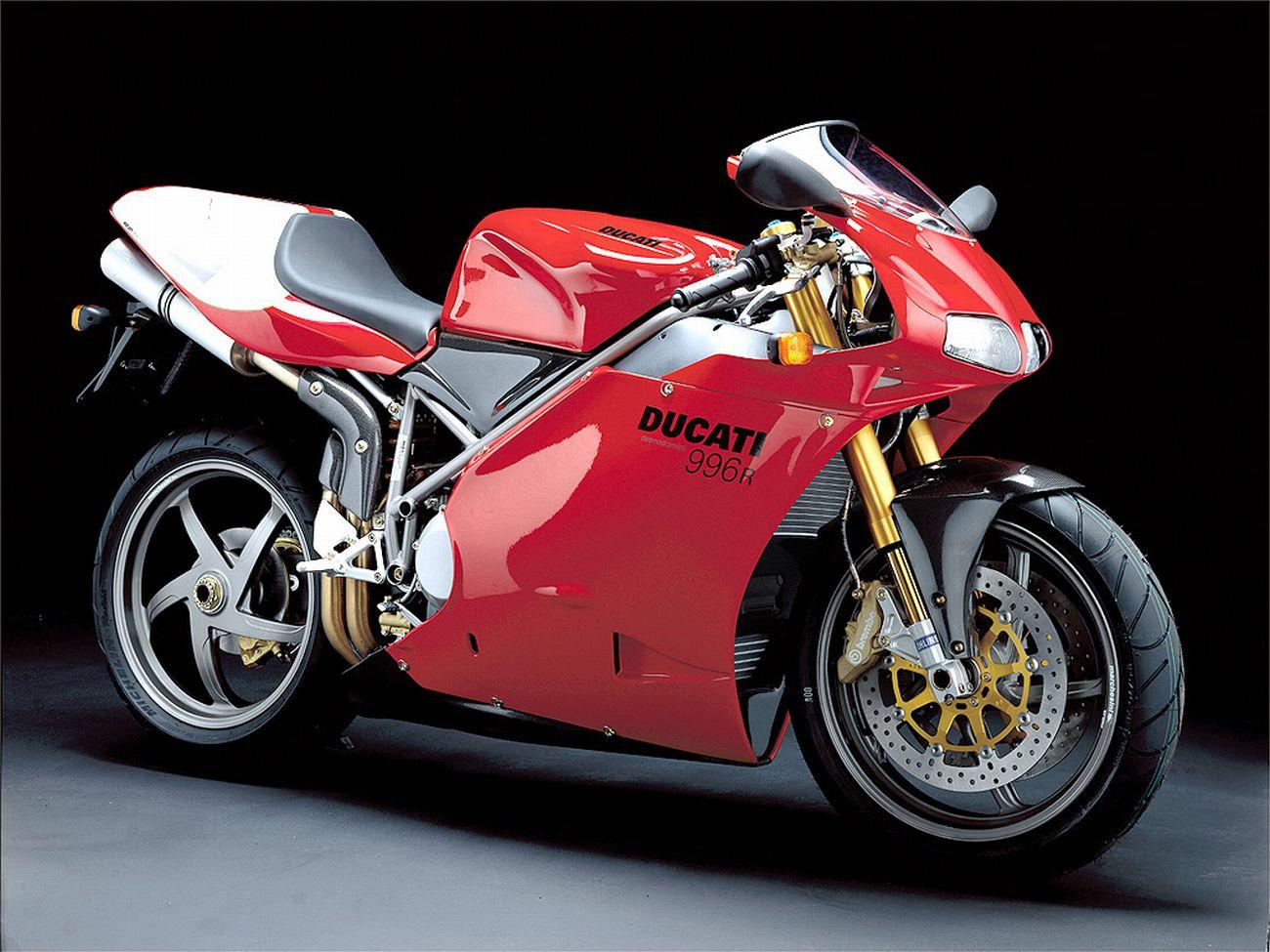 DUCATI 996 R engine