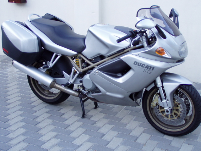 DUCATI ST2 white