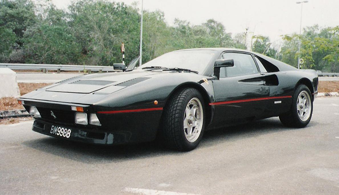 FERRARI 288 GTO EVOLUZIONE black