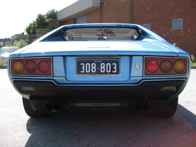 FERRARI 308 GT blue