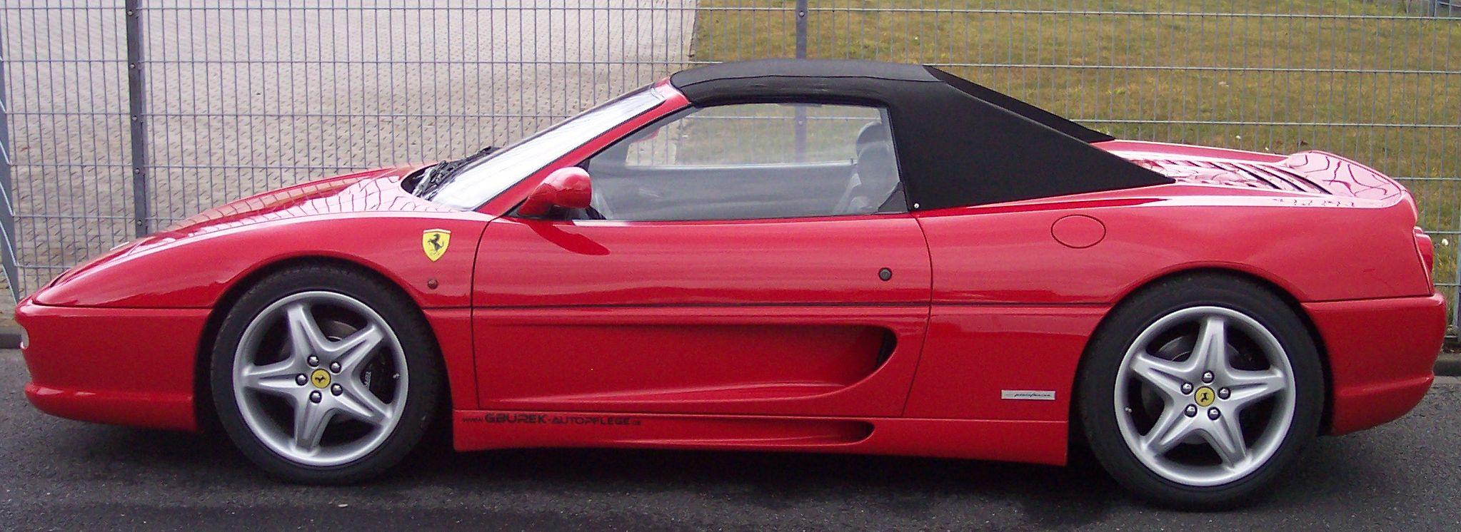 FERRARI 355 red