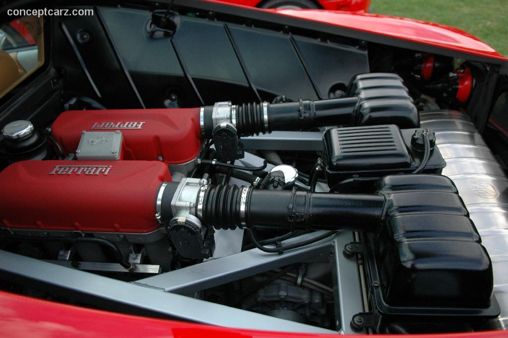 FERRARI 360 engine