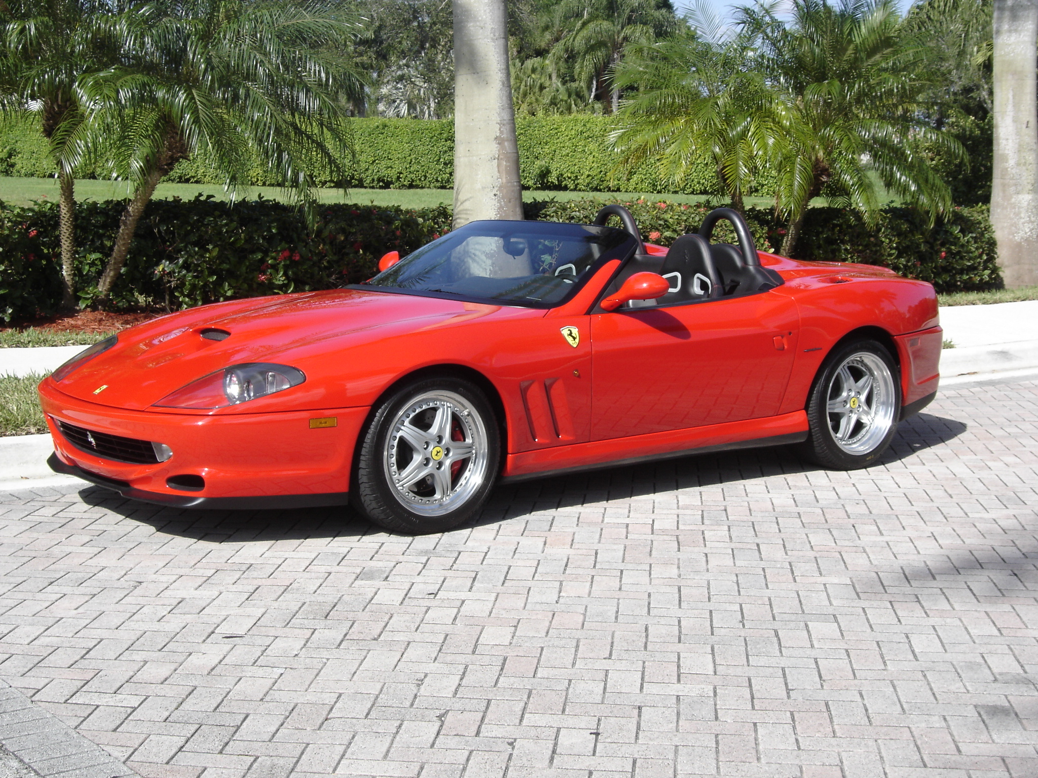 FERRARI 550 BARCHETTA brown