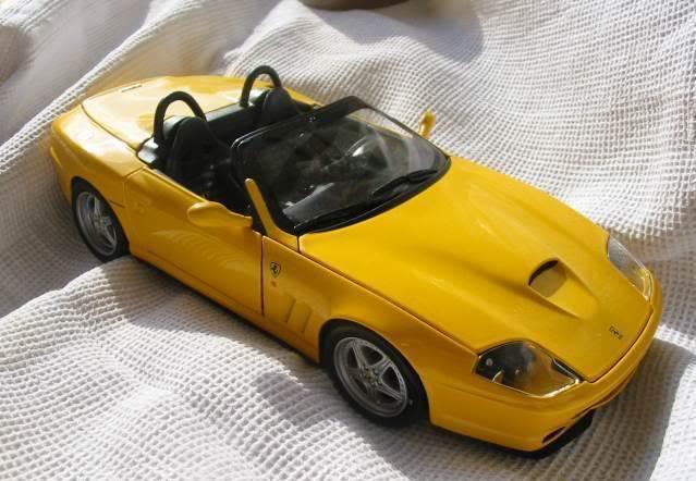 FERRARI 550 BARCHETTA interior