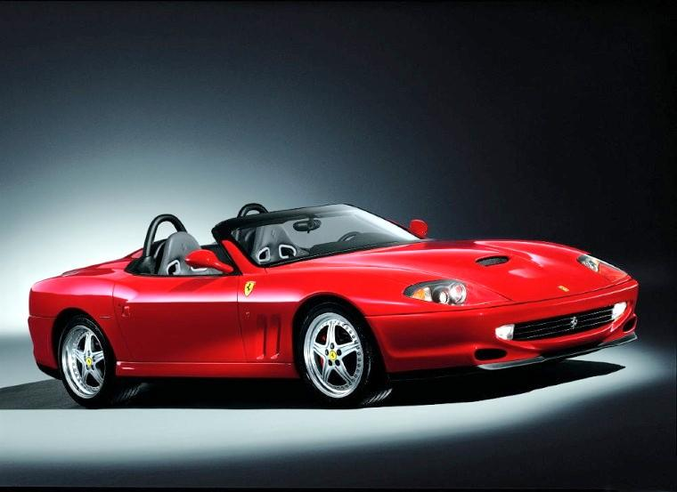 FERRARI 550 BARCHETTA red