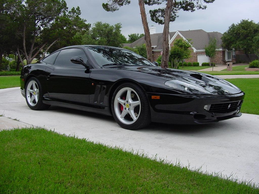 FERRARI 550 black