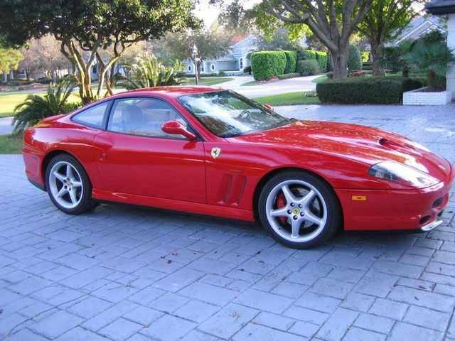 FERRARI 550 red