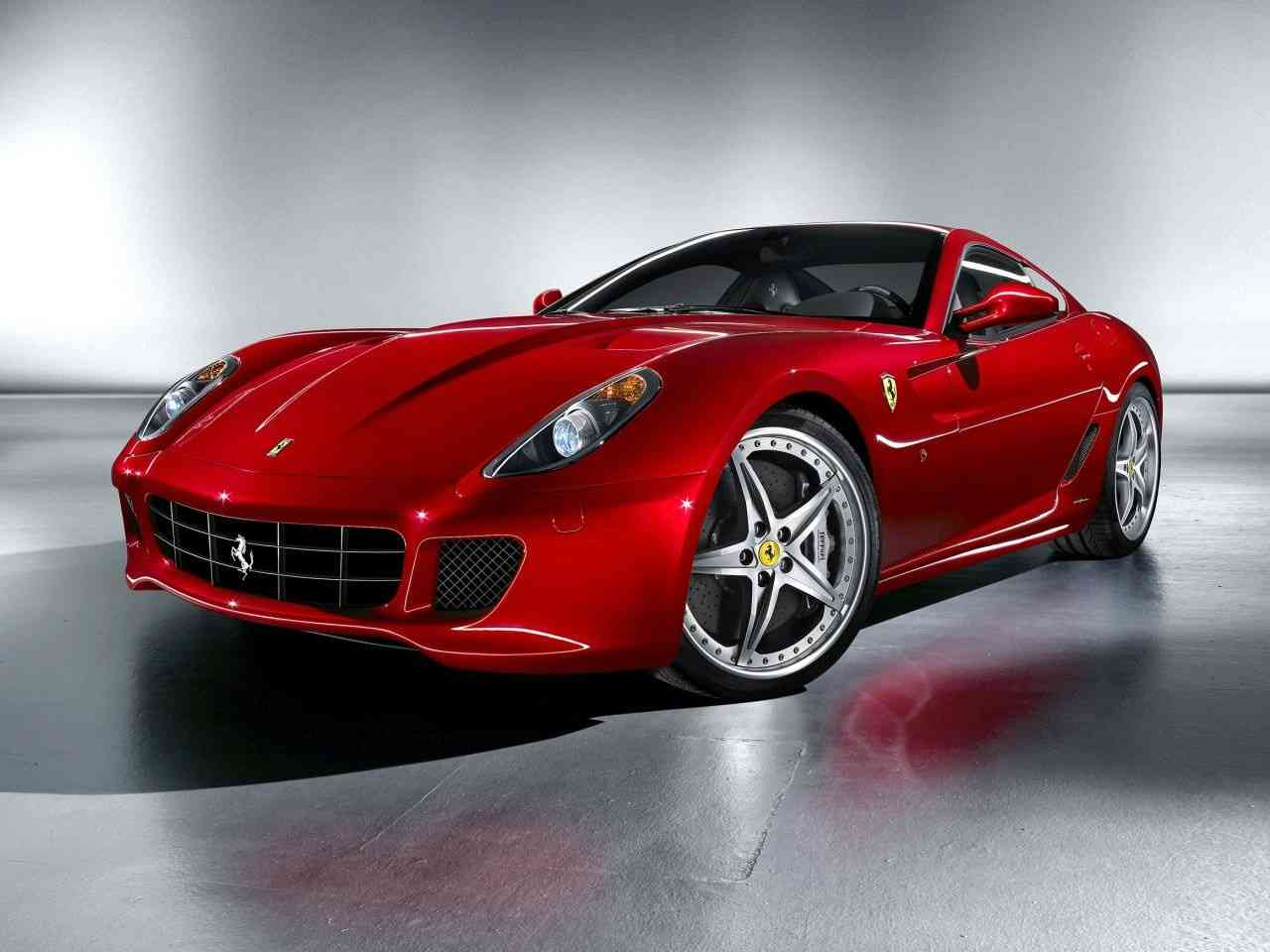 FERRARI 599 GTB FIORANO brown