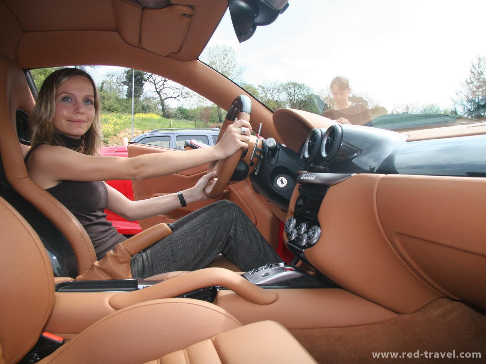 FERRARI 599 GTB FIORANO red