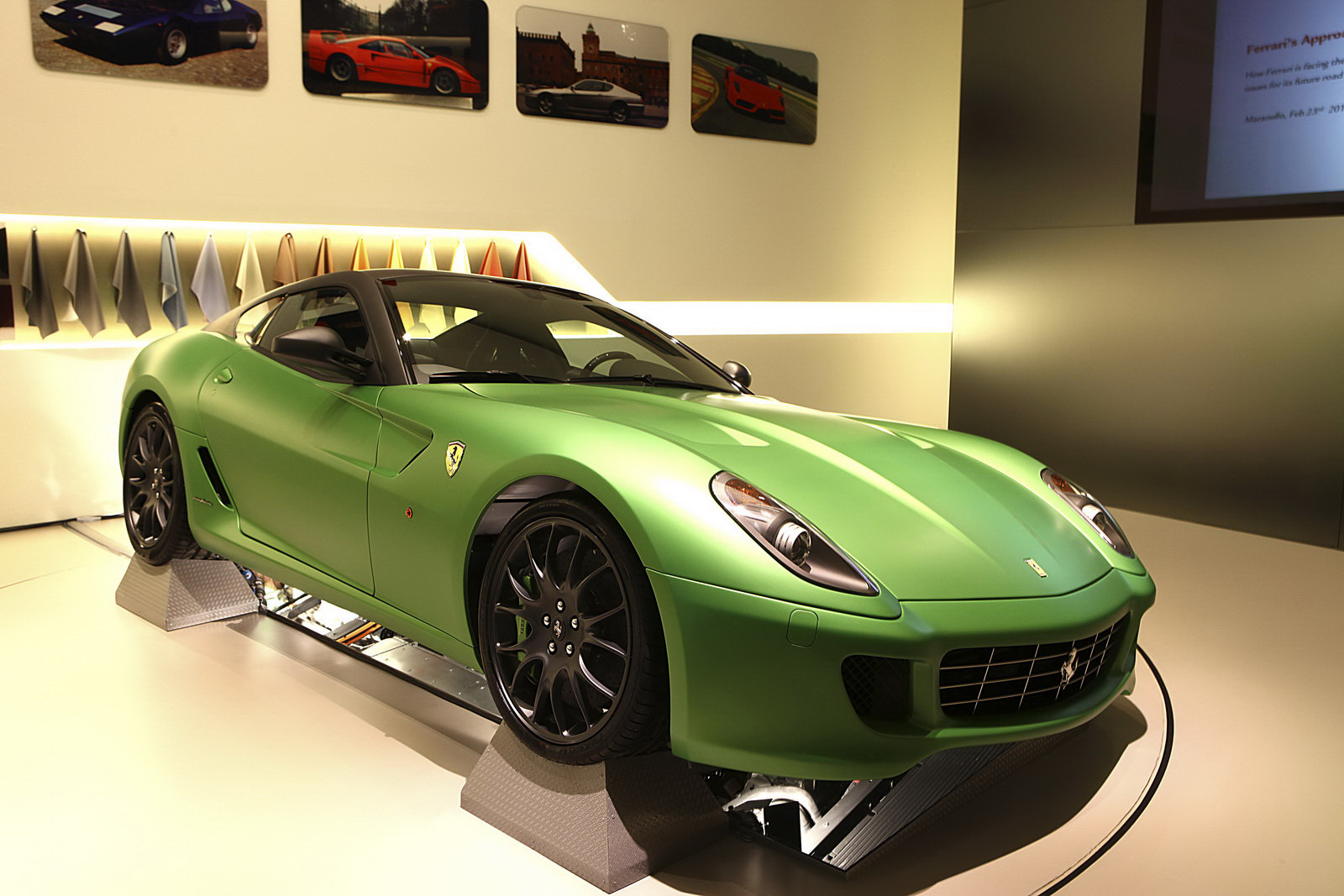 FERRARI 599 green