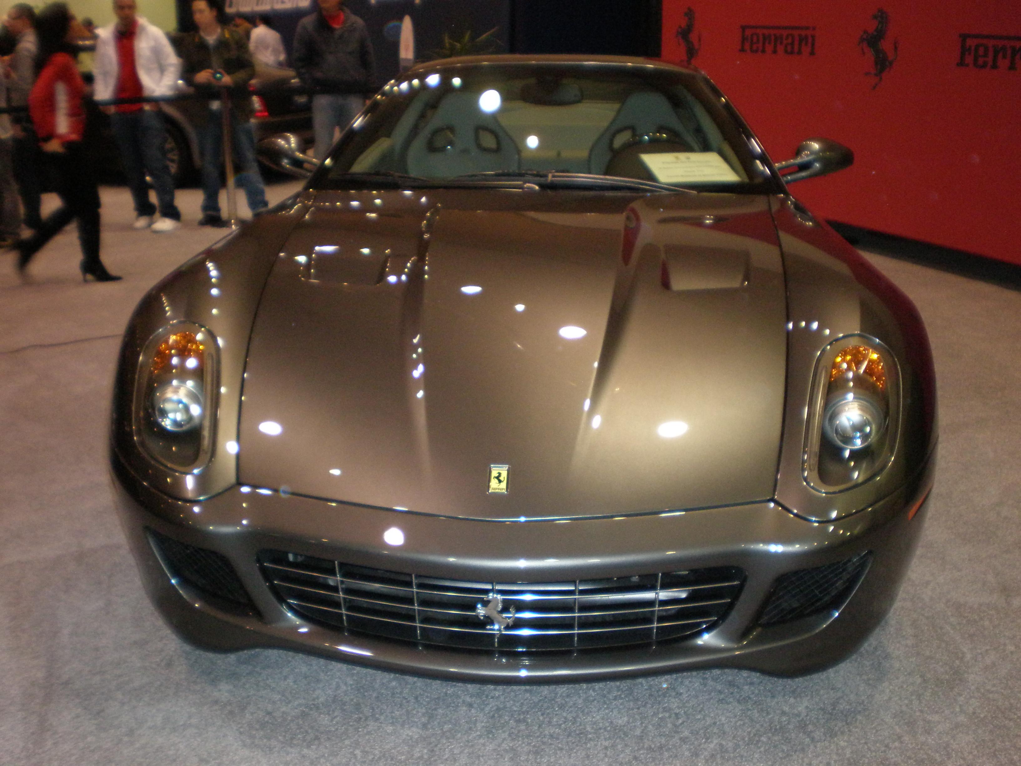 FERRARI 599 silver