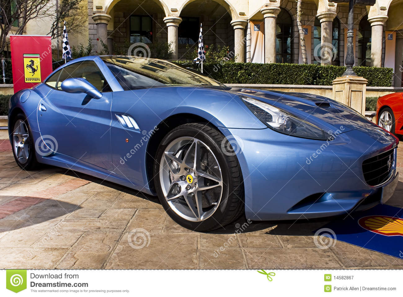 FERRARI CALIFORNIA 250 blue