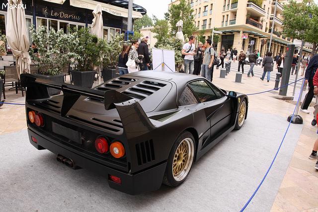 FERRARI F40 LM black
