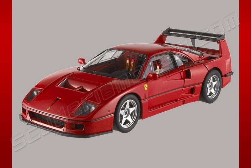 FERRARI F40 LM red