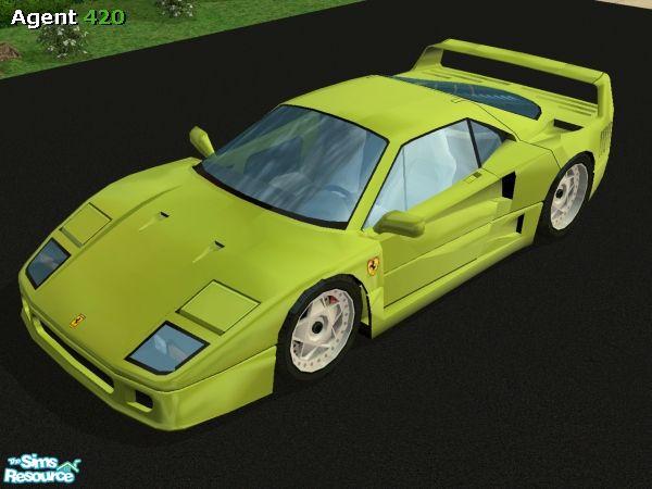 FERRARI F40 green