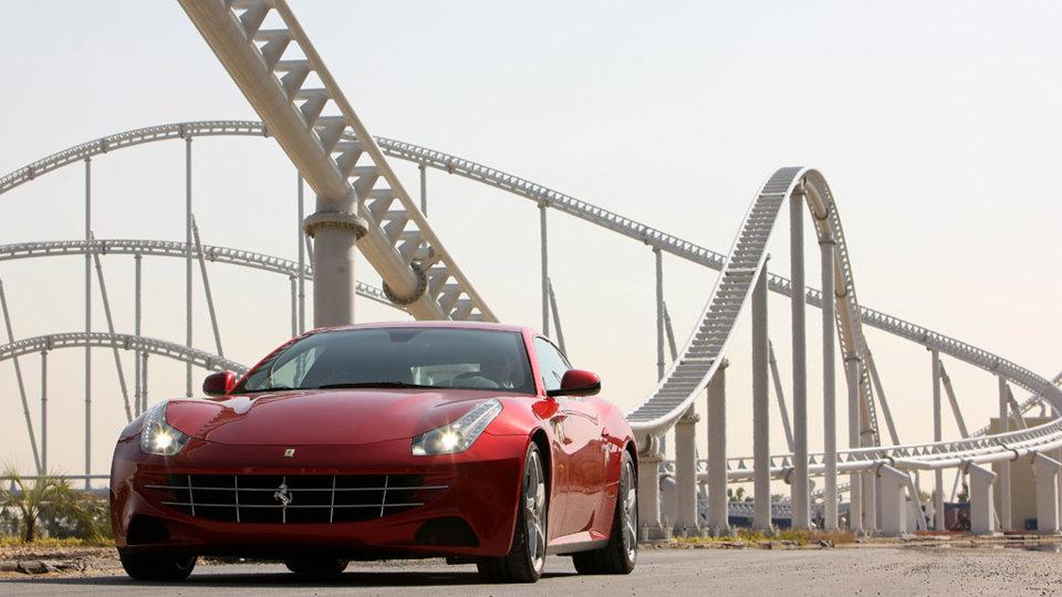 ferrari wallpaper (Ferrari FF)