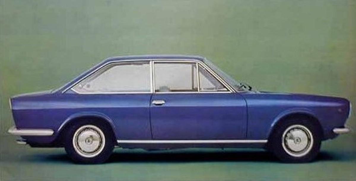 FIAT 124 1200 green