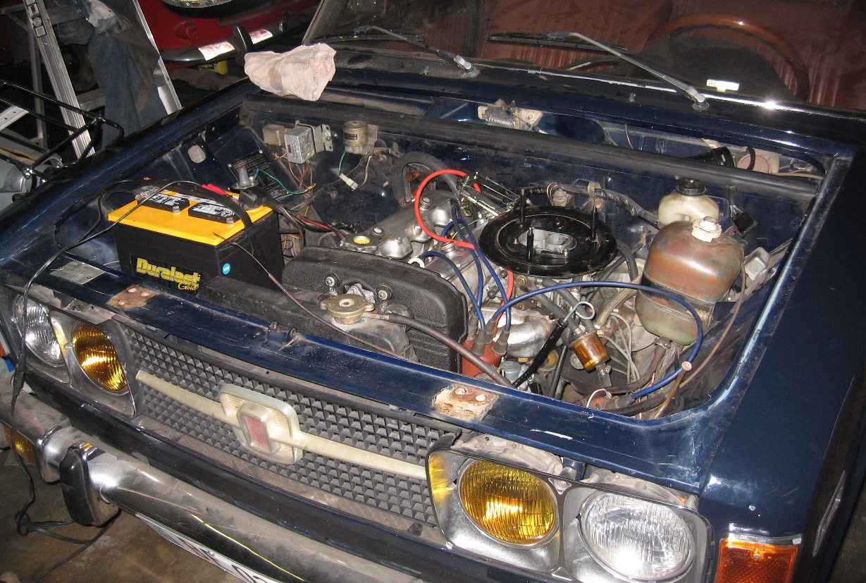 FIAT 124 engine