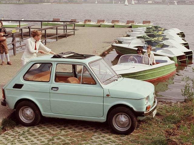 FIAT 126 600 interior