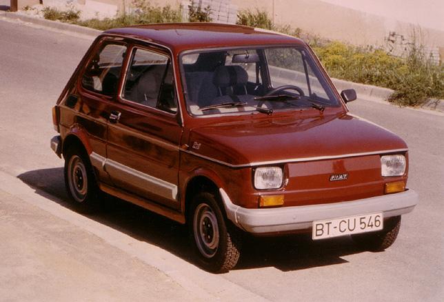 FIAT 126 brown