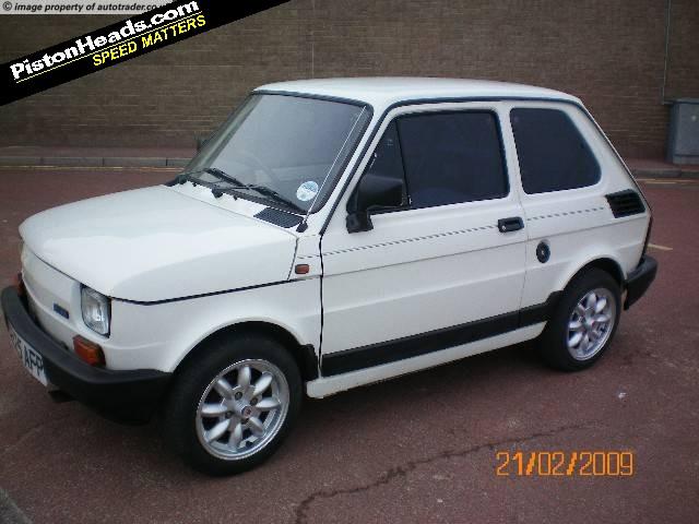 FIAT 126 white