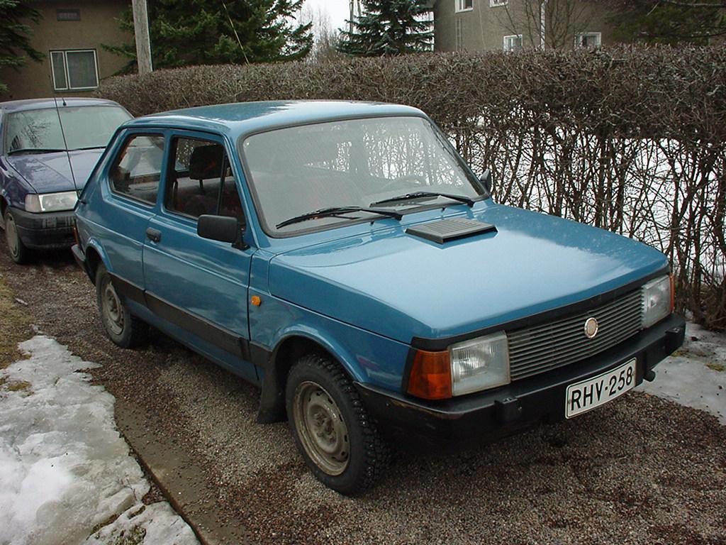 FIAT 127 1.3 blue