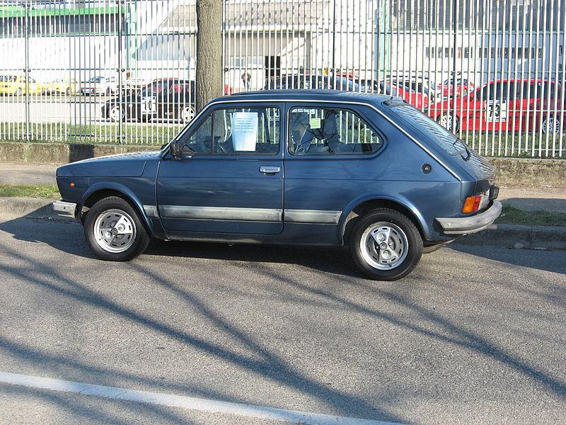 FIAT 127 1.3 green