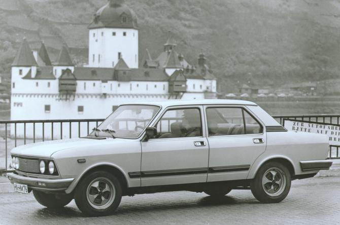 FIAT 132 silver
