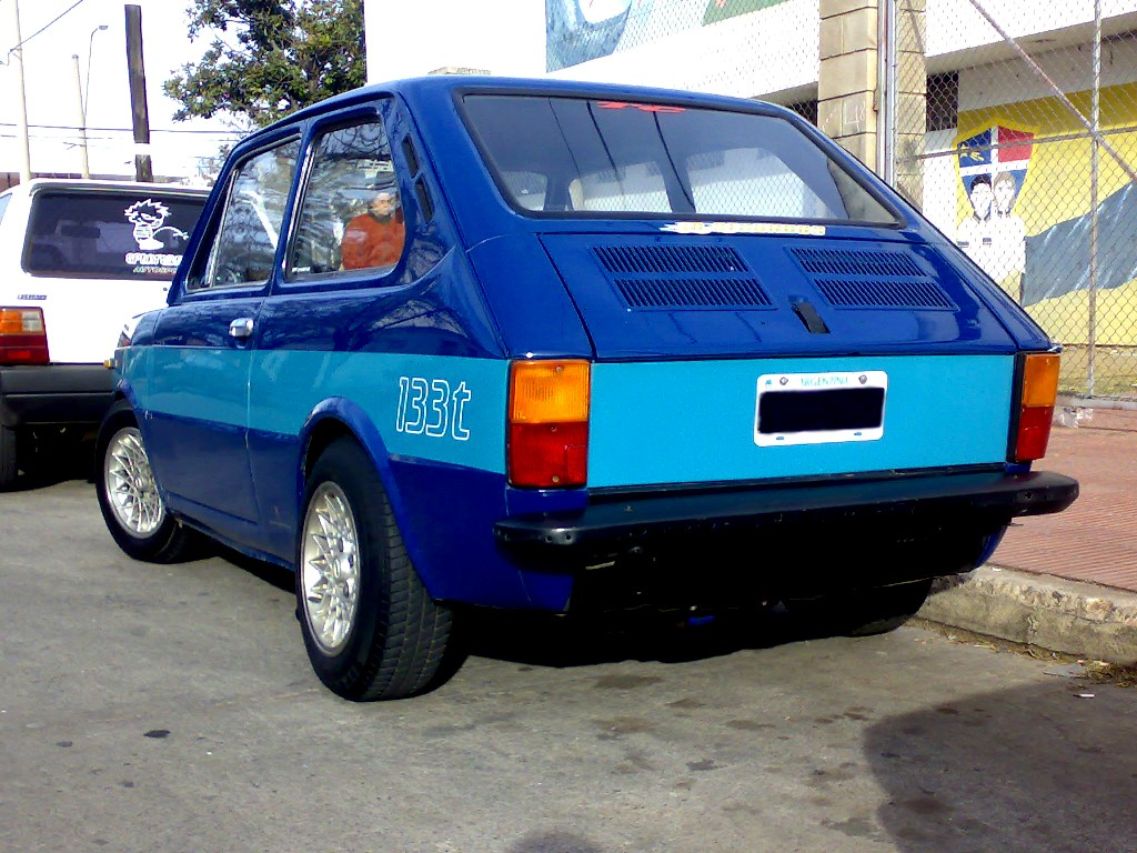 FIAT 133 engine