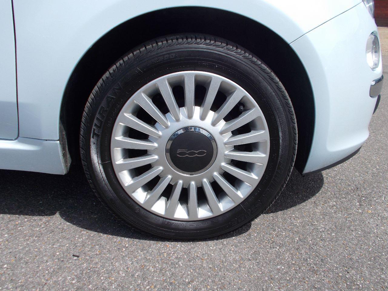 FIAT 500 1.2 green