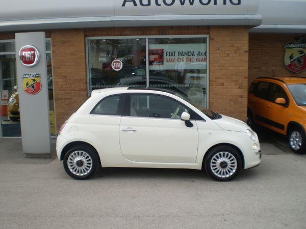 FIAT 500 1.2 white