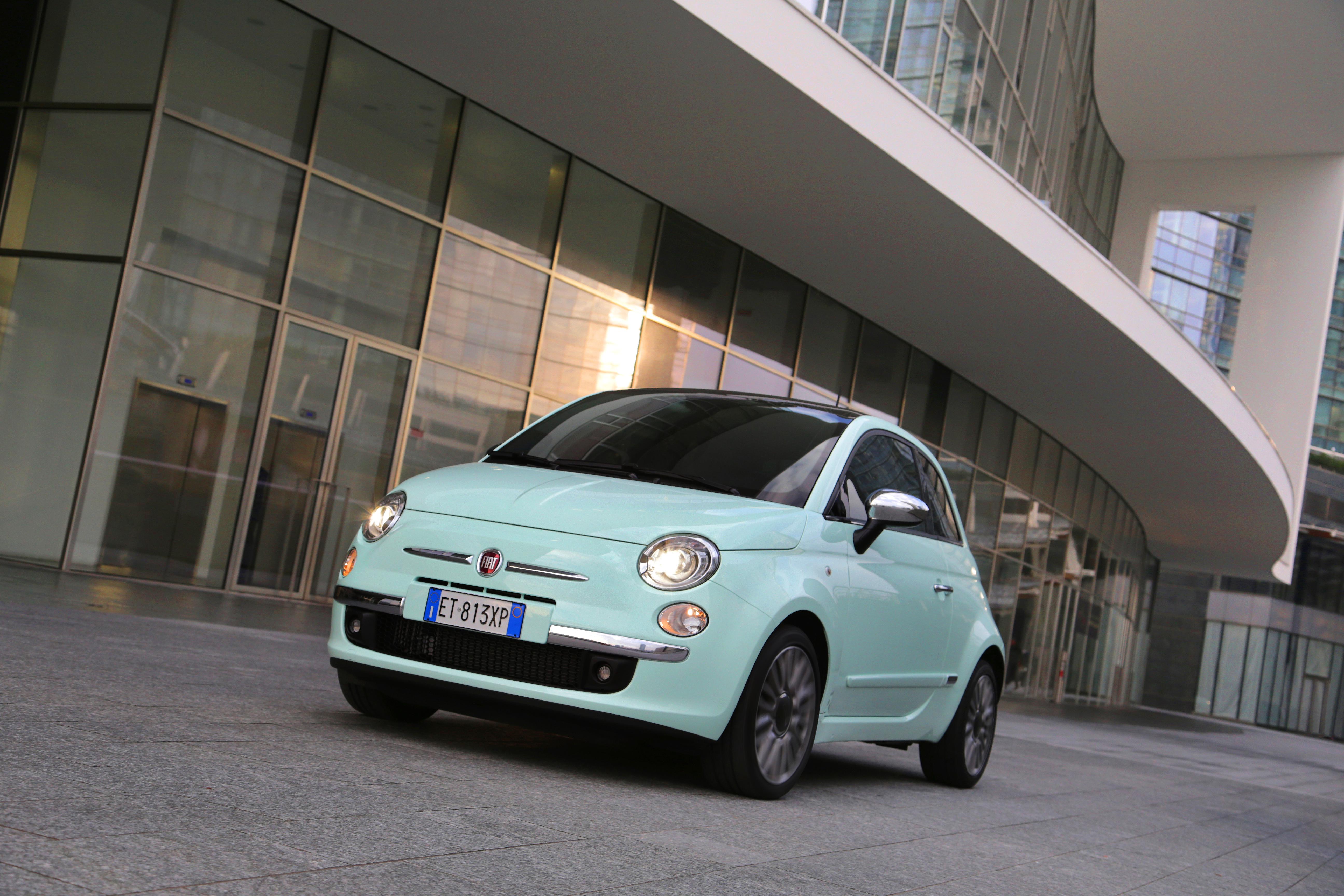 fiat wallpaper (Fiat 500)