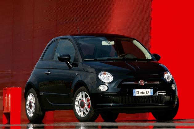 FIAT 500C black