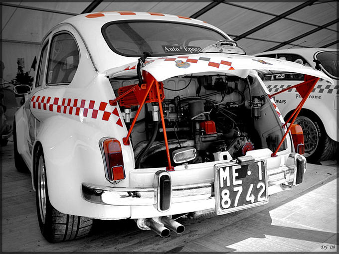 FIAT 600 ABARTH interior
