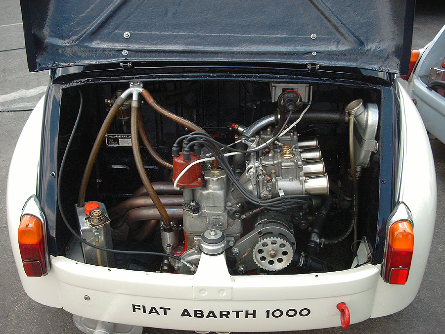 FIAT 600 engine