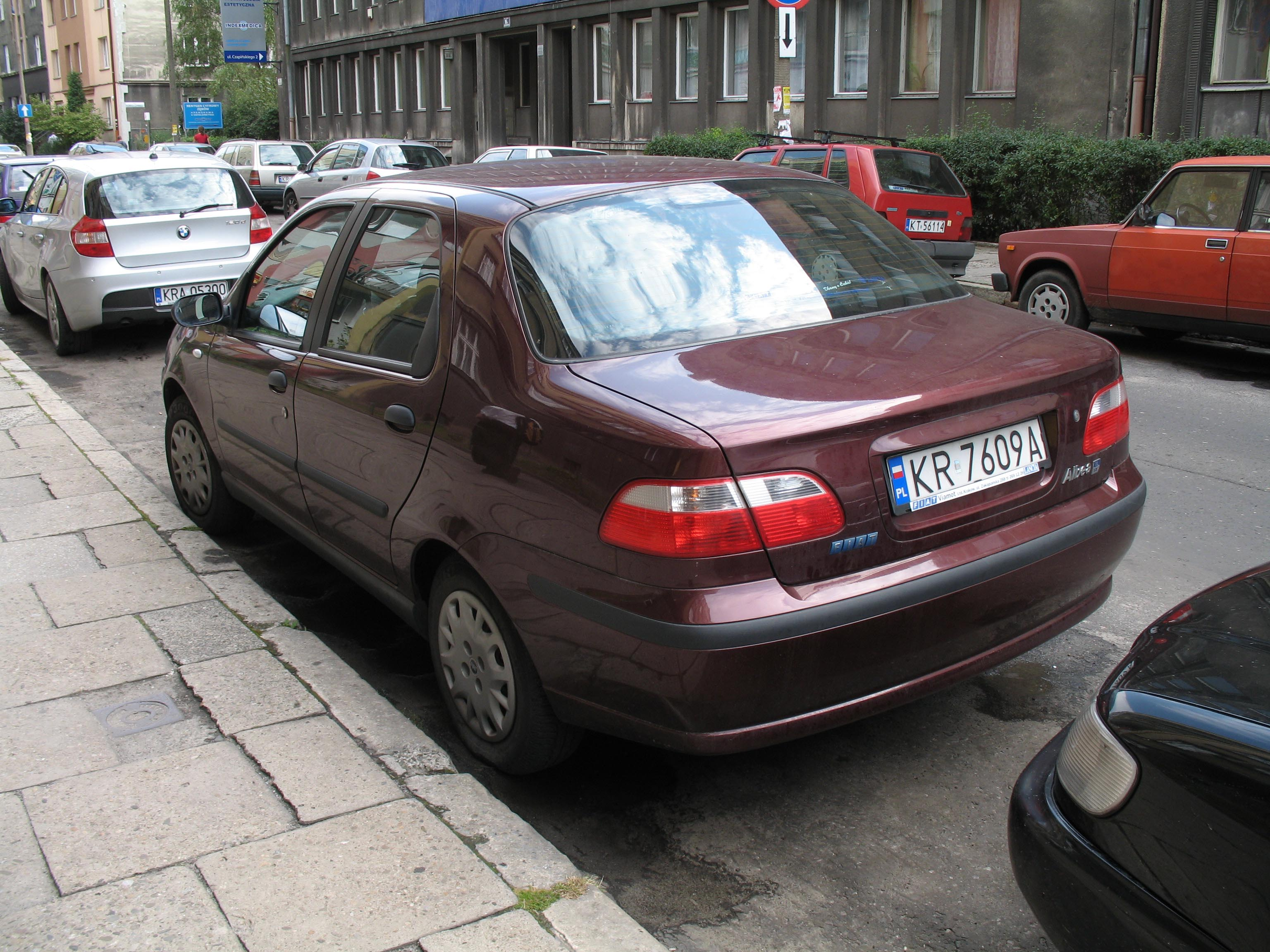 FIAT ALBEA brown